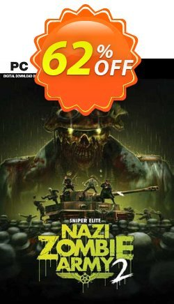 Sniper Elite: Nazi Zombie Army 2 PC - DE  Coupon discount Sniper Elite: Nazi Zombie Army 2 PC (DE) Deal 2021 CDkeys - Sniper Elite: Nazi Zombie Army 2 PC (DE) Exclusive Sale offer for iVoicesoft