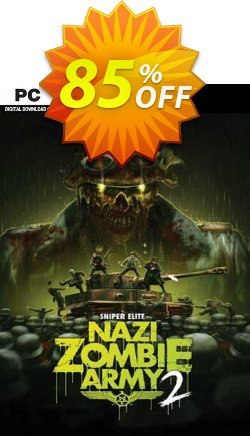 Sniper Elite: Nazi Zombie Army 2 PC Coupon discount Sniper Elite: Nazi Zombie Army 2 PC Deal 2021 CDkeys - Sniper Elite: Nazi Zombie Army 2 PC Exclusive Sale offer for iVoicesoft