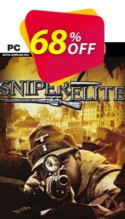 Sniper Elite PC Coupon discount Sniper Elite PC Deal 2021 CDkeys - Sniper Elite PC Exclusive Sale offer for iVoicesoft