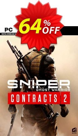Sniper Ghost Warrior Contracts 2 PC Coupon discount Sniper Ghost Warrior Contracts 2 PC Deal 2021 CDkeys - Sniper Ghost Warrior Contracts 2 PC Exclusive Sale offer for iVoicesoft