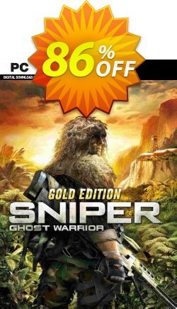 Sniper Ghost Warrior Gold Edition PC Coupon discount Sniper Ghost Warrior Gold Edition PC Deal 2021 CDkeys - Sniper Ghost Warrior Gold Edition PC Exclusive Sale offer for iVoicesoft