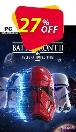 Star Wars Battlefront II 2 - Celebration Edition PC - EN  Coupon discount Star Wars Battlefront II 2 - Celebration Edition PC (EN) Deal 2021 CDkeys - Star Wars Battlefront II 2 - Celebration Edition PC (EN) Exclusive Sale offer for iVoicesoft