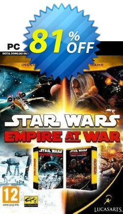 STAR WARS Empire at War - Gold Pack PC Coupon discount STAR WARS Empire at War - Gold Pack PC Deal 2021 CDkeys - STAR WARS Empire at War - Gold Pack PC Exclusive Sale offer for iVoicesoft