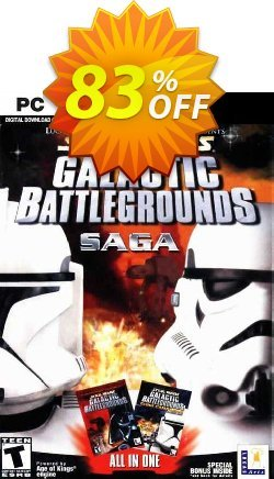 Star Wars Galactic Battlegrounds Saga PC Coupon discount Star Wars Galactic Battlegrounds Saga PC Deal 2021 CDkeys - Star Wars Galactic Battlegrounds Saga PC Exclusive Sale offer for iVoicesoft