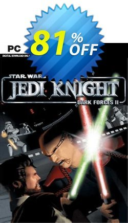 STAR WARS Jedi Knight: Dark Forces II PC Coupon discount STAR WARS Jedi Knight: Dark Forces II PC Deal 2021 CDkeys - STAR WARS Jedi Knight: Dark Forces II PC Exclusive Sale offer for iVoicesoft