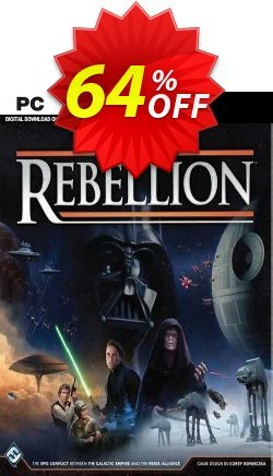 STAR WARS Rebellion PC Coupon discount STAR WARS Rebellion PC Deal 2021 CDkeys - STAR WARS Rebellion PC Exclusive Sale offer for iVoicesoft
