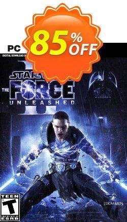 STAR WARS: The Force Unleashed II PC Coupon discount STAR WARS: The Force Unleashed II PC Deal 2021 CDkeys - STAR WARS: The Force Unleashed II PC Exclusive Sale offer for iVoicesoft