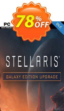 Stellaris: Galaxy Edition Upgrade Pack PC Coupon discount Stellaris: Galaxy Edition Upgrade Pack PC Deal 2021 CDkeys - Stellaris: Galaxy Edition Upgrade Pack PC Exclusive Sale offer for iVoicesoft