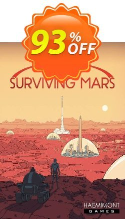 Surviving Mars PC Coupon discount Surviving Mars PC Deal 2021 CDkeys - Surviving Mars PC Exclusive Sale offer for iVoicesoft