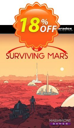 Surviving Mars PC - EU  Coupon discount Surviving Mars PC (EU) Deal 2021 CDkeys - Surviving Mars PC (EU) Exclusive Sale offer for iVoicesoft