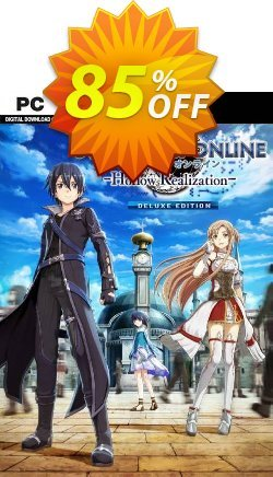Sword Art Online: Hollow Realization Deluxe Edition PC - EU  Coupon discount Sword Art Online: Hollow Realization Deluxe Edition PC (EU) Deal 2021 CDkeys - Sword Art Online: Hollow Realization Deluxe Edition PC (EU) Exclusive Sale offer for iVoicesoft