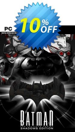 Telltale Batman Shadows Edition PC Coupon discount Telltale Batman Shadows Edition PC Deal 2021 CDkeys - Telltale Batman Shadows Edition PC Exclusive Sale offer for iVoicesoft