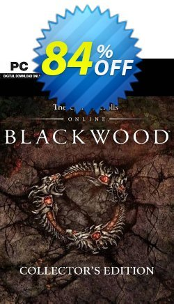 The Elder Scrolls Online: Blackwood Collector's Edition Upgrade PC Coupon discount The Elder Scrolls Online: Blackwood Collector's Edition Upgrade PC Deal 2021 CDkeys - The Elder Scrolls Online: Blackwood Collector's Edition Upgrade PC Exclusive Sale offer for iVoicesoft