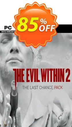 The Evil Within 2: Last Chance Pack PC - DLC - EU  Coupon discount The Evil Within 2: Last Chance Pack PC - DLC (EU) Deal 2021 CDkeys - The Evil Within 2: Last Chance Pack PC - DLC (EU) Exclusive Sale offer for iVoicesoft