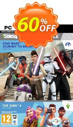 The Sims 4 + Star Wars: Journey to Batuu Bundle PC Coupon discount The Sims 4 + Star Wars: Journey to Batuu Bundle PC Deal 2021 CDkeys - The Sims 4 + Star Wars: Journey to Batuu Bundle PC Exclusive Sale offer for iVoicesoft
