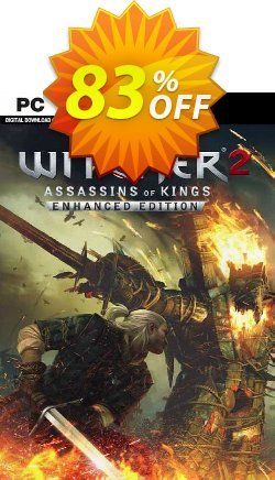The Witcher 2: Assassins of Kings Enhanced Edition PC Coupon discount The Witcher 2: Assassins of Kings Enhanced Edition PC Deal 2021 CDkeys - The Witcher 2: Assassins of Kings Enhanced Edition PC Exclusive Sale offer for iVoicesoft