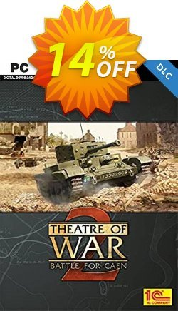 Theatre of War 2  Battle for Caen PC Coupon discount Theatre of War 2  Battle for Caen PC Deal 2021 CDkeys - Theatre of War 2  Battle for Caen PC Exclusive Sale offer for iVoicesoft