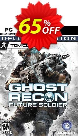 Tom Clancy's Ghost Recon Future Soldier - Deluxe Edition PC Coupon discount Tom Clancy's Ghost Recon Future Soldier - Deluxe Edition PC Deal 2021 CDkeys - Tom Clancy's Ghost Recon Future Soldier - Deluxe Edition PC Exclusive Sale offer for iVoicesoft