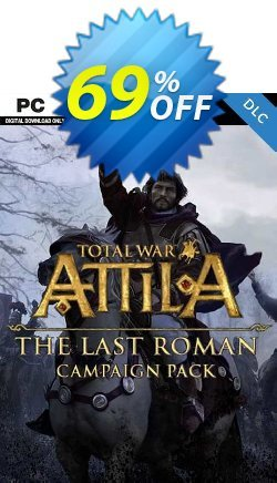 Total War: ATTILA - The Last Roman Campaign Pack PC - EU  Coupon discount Total War: ATTILA - The Last Roman Campaign Pack PC (EU) Deal 2021 CDkeys - Total War: ATTILA - The Last Roman Campaign Pack PC (EU) Exclusive Sale offer for iVoicesoft