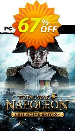 Total War: NAPOLEON - Definitive Edition PC Coupon discount Total War: NAPOLEON - Definitive Edition PC Deal 2021 CDkeys - Total War: NAPOLEON - Definitive Edition PC Exclusive Sale offer for iVoicesoft