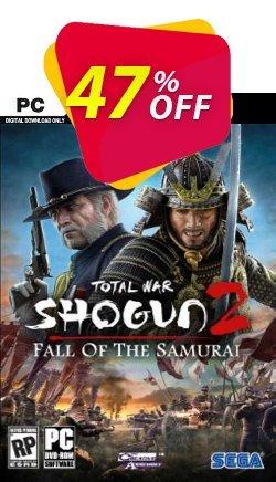 Total War Shogun 2: Fall of the Samurai PC - EU  Coupon discount Total War Shogun 2: Fall of the Samurai PC (EU) Deal 2021 CDkeys - Total War Shogun 2: Fall of the Samurai PC (EU) Exclusive Sale offer for iVoicesoft