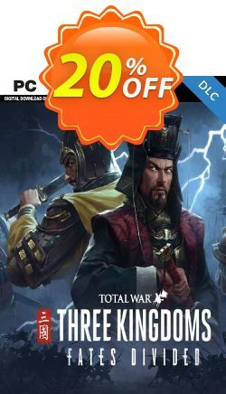 Total War: Three Kingdoms - Fates Divided PC - DLC - EU  Coupon discount Total War: Three Kingdoms - Fates Divided PC - DLC (EU) Deal 2021 CDkeys - Total War: Three Kingdoms - Fates Divided PC - DLC (EU) Exclusive Sale offer for iVoicesoft