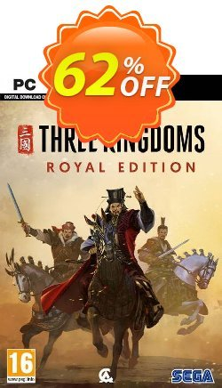 Total War: Three Kingdoms – Royal Edition PC Coupon discount Total War: Three Kingdoms – Royal Edition PC Deal 2021 CDkeys - Total War: Three Kingdoms – Royal Edition PC Exclusive Sale offer for iVoicesoft