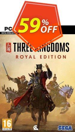 Total War: Three Kingdoms Royal Edition PC - WW  Coupon discount Total War: Three Kingdoms Royal Edition PC (WW) Deal 2021 CDkeys - Total War: Three Kingdoms Royal Edition PC (WW) Exclusive Sale offer for iVoicesoft
