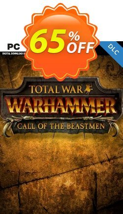 Total War WARHAMMER – Call of the Beastmen Campaign Pack DLC Coupon discount Total War WARHAMMER – Call of the Beastmen Campaign Pack DLC Deal 2021 CDkeys - Total War WARHAMMER – Call of the Beastmen Campaign Pack DLC Exclusive Sale offer for iVoicesoft