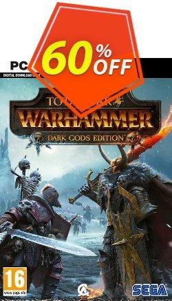 Total War: Warhammer Dark Gods Edition PC - EU  Coupon discount Total War: Warhammer Dark Gods Edition PC (EU) Deal 2021 CDkeys - Total War: Warhammer Dark Gods Edition PC (EU) Exclusive Sale offer for iVoicesoft