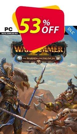 Total War Warhammer II 2 - The Warden and The Paunch PC - DLC - EU  Coupon discount Total War Warhammer II 2 - The Warden and The Paunch PC - DLC (EU) Deal 2021 CDkeys - Total War Warhammer II 2 - The Warden and The Paunch PC - DLC (EU) Exclusive Sale offer for iVoicesoft
