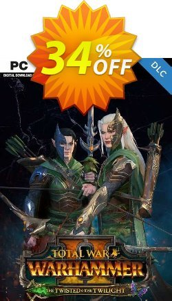 Total War: WARHAMMER II - The Twisted & The Twilight PC - DLC - EU  Coupon discount Total War: WARHAMMER II - The Twisted & The Twilight PC - DLC (EU) Deal 2021 CDkeys - Total War: WARHAMMER II - The Twisted & The Twilight PC - DLC (EU) Exclusive Sale offer for iVoicesoft