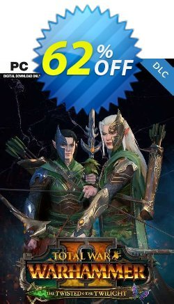 Total War: WARHAMMER II - The Twisted & The Twilight PC - DLC Coupon discount Total War: WARHAMMER II - The Twisted & The Twilight PC - DLC Deal 2021 CDkeys - Total War: WARHAMMER II - The Twisted & The Twilight PC - DLC Exclusive Sale offer for iVoicesoft