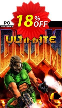 Ultimate Doom PC Coupon discount Ultimate Doom PC Deal 2021 CDkeys - Ultimate Doom PC Exclusive Sale offer for iVoicesoft
