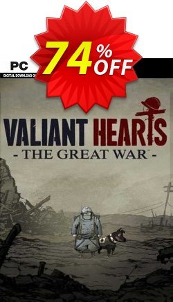 Valiant Hearts: The Great War PC Coupon discount Valiant Hearts: The Great War PC Deal 2021 CDkeys - Valiant Hearts: The Great War PC Exclusive Sale offer for iVoicesoft