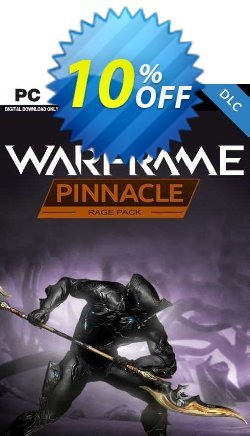 Warframe: Rage Pinnacle Pack PC - DLC Coupon discount Warframe: Rage Pinnacle Pack PC - DLC Deal 2021 CDkeys - Warframe: Rage Pinnacle Pack PC - DLC Exclusive Sale offer for iVoicesoft