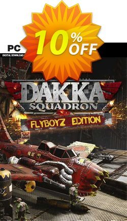 Warhammer 40,000: Dakka Squadron - Flyboyz Edition PC Coupon discount Warhammer 40,000: Dakka Squadron - Flyboyz Edition PC Deal 2021 CDkeys - Warhammer 40,000: Dakka Squadron - Flyboyz Edition PC Exclusive Sale offer for iVoicesoft