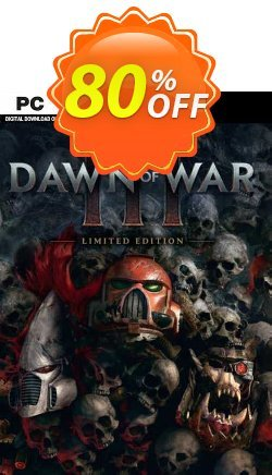 Warhammer 40,000 Dawn of War III Limited Edition PC - EU  Coupon discount Warhammer 40,000 Dawn of War III Limited Edition PC (EU) Deal 2021 CDkeys - Warhammer 40,000 Dawn of War III Limited Edition PC (EU) Exclusive Sale offer for iVoicesoft