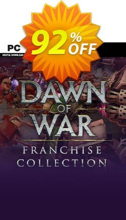 Warhammer 40,000 Dawn of War Franchise Collection PC Coupon discount Warhammer 40,000 Dawn of War Franchise Collection PC Deal 2021 CDkeys - Warhammer 40,000 Dawn of War Franchise Collection PC Exclusive Sale offer for iVoicesoft