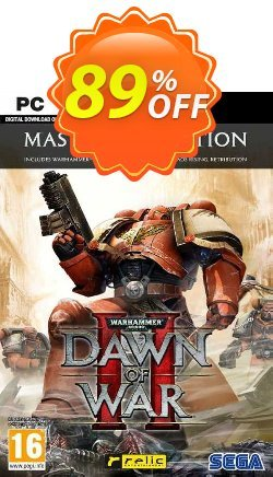 Warhammer 40,000: Dawn of War II - Master Collection PC - EU  Coupon discount Warhammer 40,000: Dawn of War II - Master Collection PC (EU) Deal 2021 CDkeys - Warhammer 40,000: Dawn of War II - Master Collection PC (EU) Exclusive Sale offer for iVoicesoft