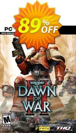 Warhammer 40,000: Dawn of War II PC Coupon discount Warhammer 40,000: Dawn of War II PC Deal 2021 CDkeys - Warhammer 40,000: Dawn of War II PC Exclusive Sale offer for iVoicesoft