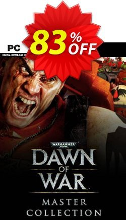 Warhammer 40,000: Dawn of War - Master Collection PC Coupon discount Warhammer 40,000: Dawn of War - Master Collection PC Deal 2021 CDkeys - Warhammer 40,000: Dawn of War - Master Collection PC Exclusive Sale offer for iVoicesoft