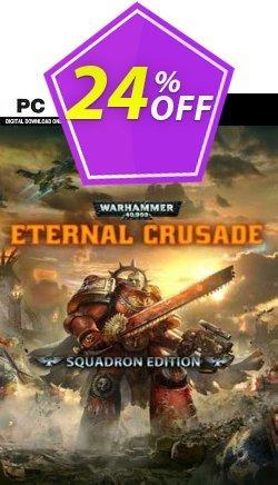 Warhammer 40000: Eternal Crusade - Squadron Edition PC Coupon discount Warhammer 40000: Eternal Crusade - Squadron Edition PC Deal 2021 CDkeys - Warhammer 40000: Eternal Crusade - Squadron Edition PC Exclusive Sale offer for iVoicesoft