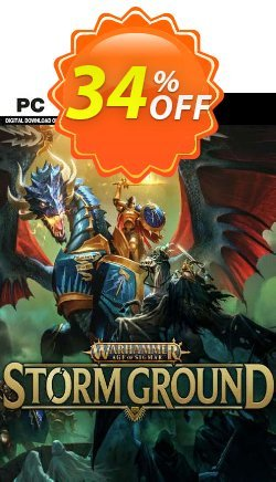 Warhammer Age of Sigmar: Storm Ground PC Coupon discount Warhammer Age of Sigmar: Storm Ground PC Deal 2021 CDkeys - Warhammer Age of Sigmar: Storm Ground PC Exclusive Sale offer for iVoicesoft