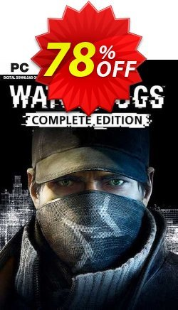 Watch Dogs - Complete Edition PC - EU  Coupon discount Watch Dogs - Complete Edition PC (EU) Deal 2021 CDkeys - Watch Dogs - Complete Edition PC (EU) Exclusive Sale offer for iVoicesoft