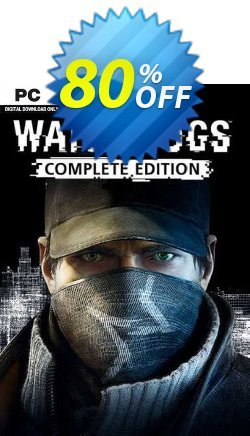 Watch Dogs - Complete Edition PC Coupon discount Watch Dogs - Complete Edition PC Deal 2021 CDkeys - Watch Dogs - Complete Edition PC Exclusive Sale offer for iVoicesoft