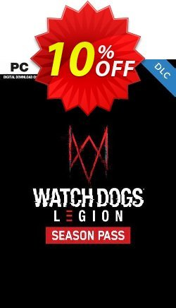 Watch Dogs: Legion Season Pass PC Coupon discount Watch Dogs: Legion Season Pass PC Deal 2021 CDkeys - Watch Dogs: Legion Season Pass PC Exclusive Sale offer for iVoicesoft