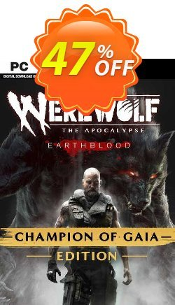 Werewolf: The Apocalypse Earthblood Champion of Gaia Edition PC Coupon discount Werewolf: The Apocalypse Earthblood Champion of Gaia Edition PC Deal 2021 CDkeys - Werewolf: The Apocalypse Earthblood Champion of Gaia Edition PC Exclusive Sale offer for iVoicesoft