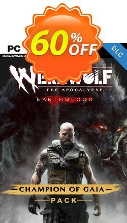 Werewolf: The Apocalypse - Earthblood Champion of Gaia Pack PC - DLC Coupon discount Werewolf: The Apocalypse - Earthblood Champion of Gaia Pack PC - DLC Deal 2021 CDkeys - Werewolf: The Apocalypse - Earthblood Champion of Gaia Pack PC - DLC Exclusive Sale offer for iVoicesoft