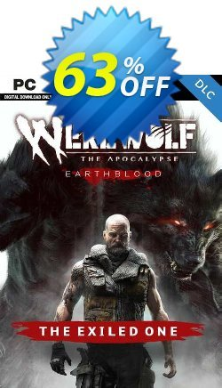 Werewolf: The Apocalypse - Earthblood The Exiled One PC - DLC Coupon discount Werewolf: The Apocalypse - Earthblood The Exiled One PC - DLC Deal 2021 CDkeys. Promotion: Werewolf: The Apocalypse - Earthblood The Exiled One PC - DLC Exclusive Sale offer for iVoicesoft